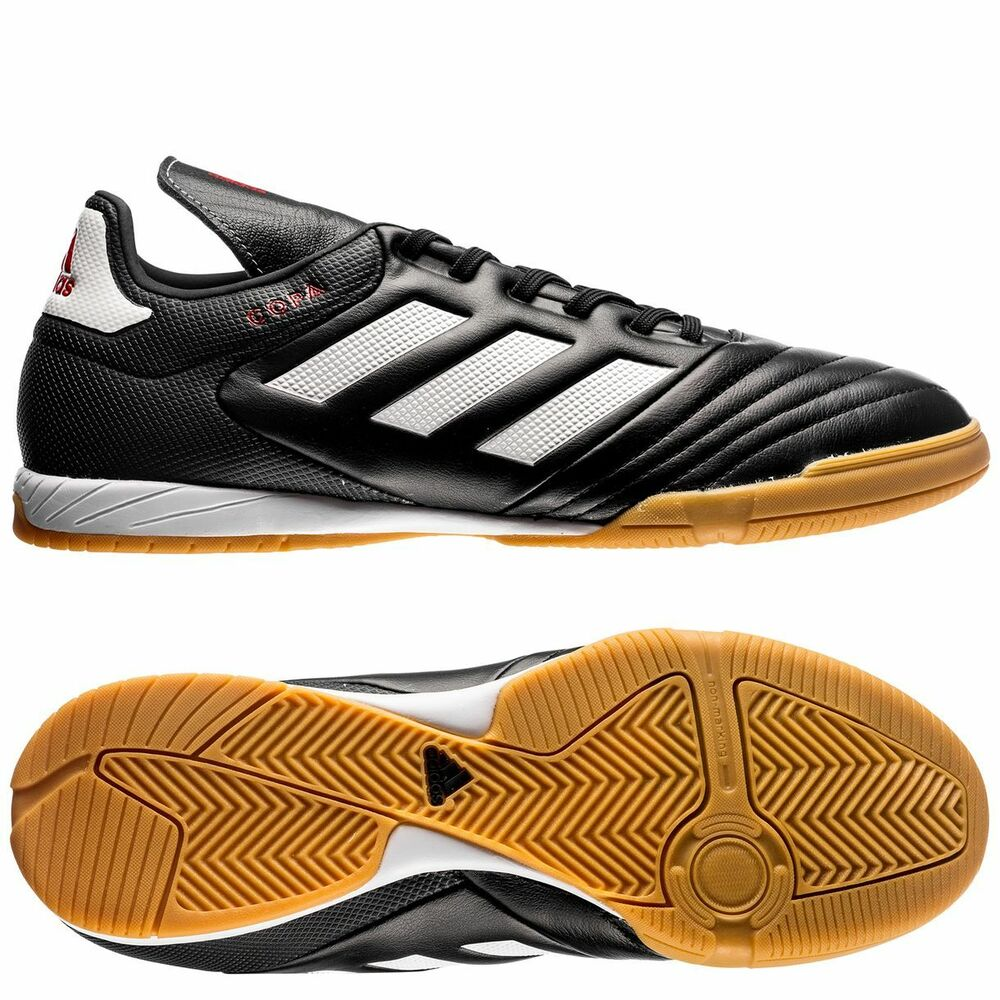 Black And White Indoor Soccer Shoes