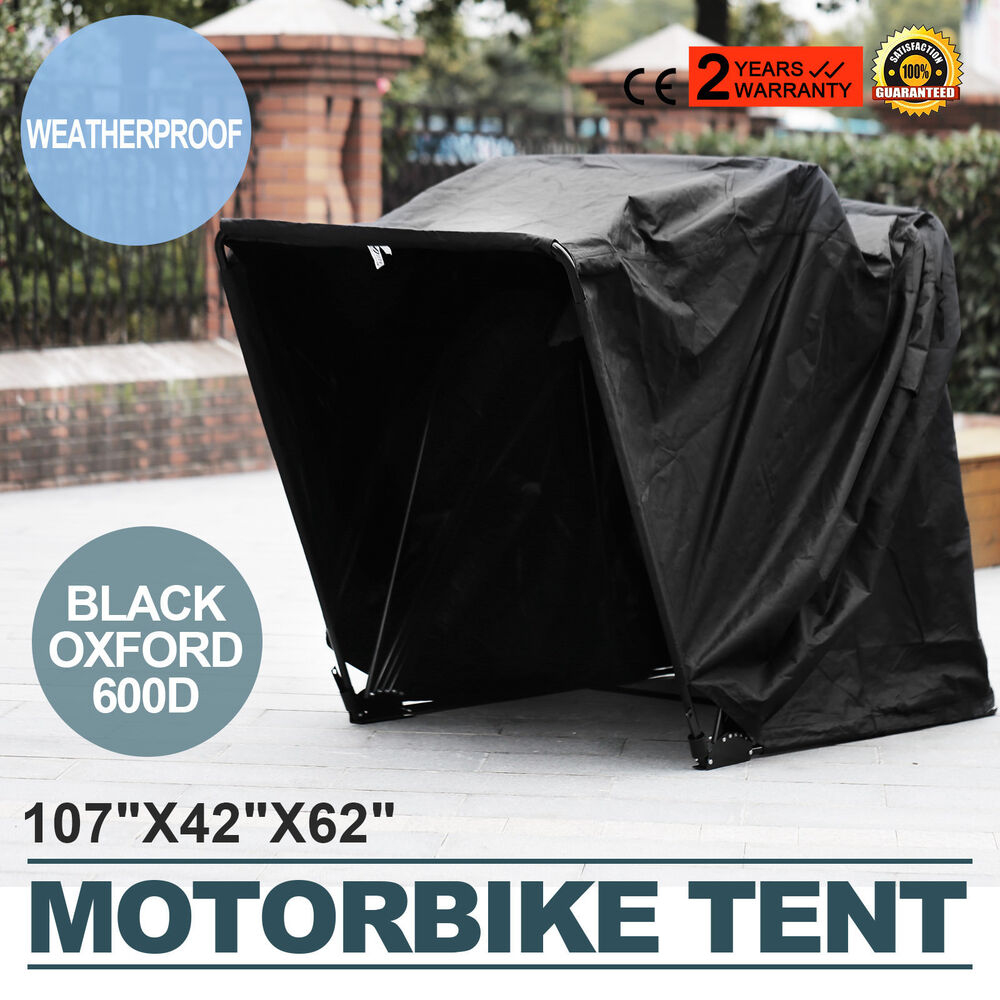 Heavy Duty Motorcycle Shelter Shed Cover Storage Garage