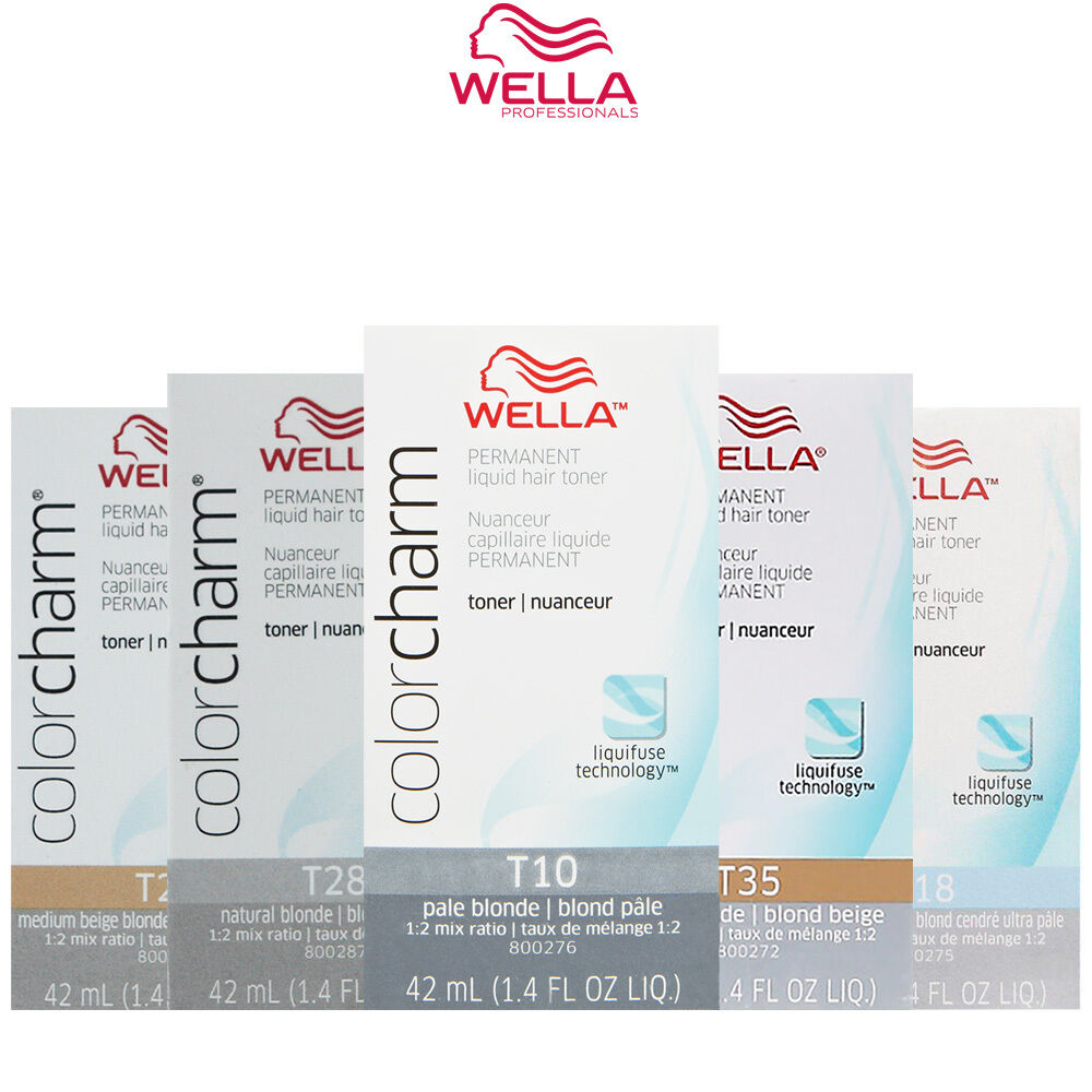 Wella color charm ebay wella color charm t10t11t14t15t18t27t28 nvjuhfo Image collections