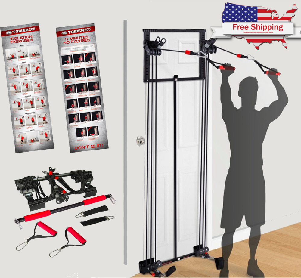 New Body By Jake Tower 200 Full Gym Fitness Workout Dvd