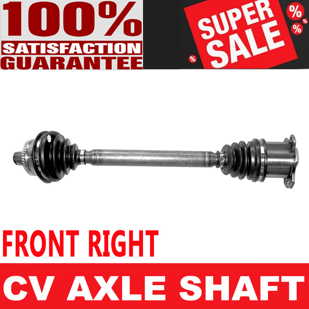 FRONT RIGHT CV Axle Drive Shaft For AUDI A4 RS4 S4 AWD Manual Transmission  | eBay