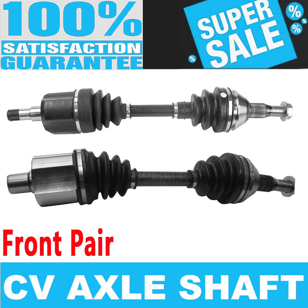 Front 2x CV Joint Axle Shaft for OLDSMOBILE INTRIGUE SILHOUETTE FWD V6 3.8L  | eBay