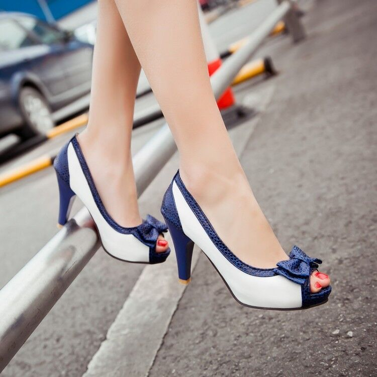 Fashion leisure platform fish mouth sandals boots high for Platform shoes with fish