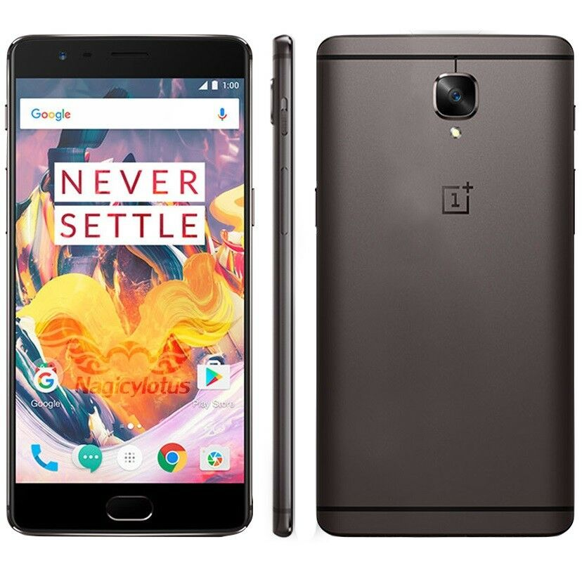 oneplus 3t a3003 smartphone 6gb 64gb rom dual sim 4g lte. Black Bedroom Furniture Sets. Home Design Ideas