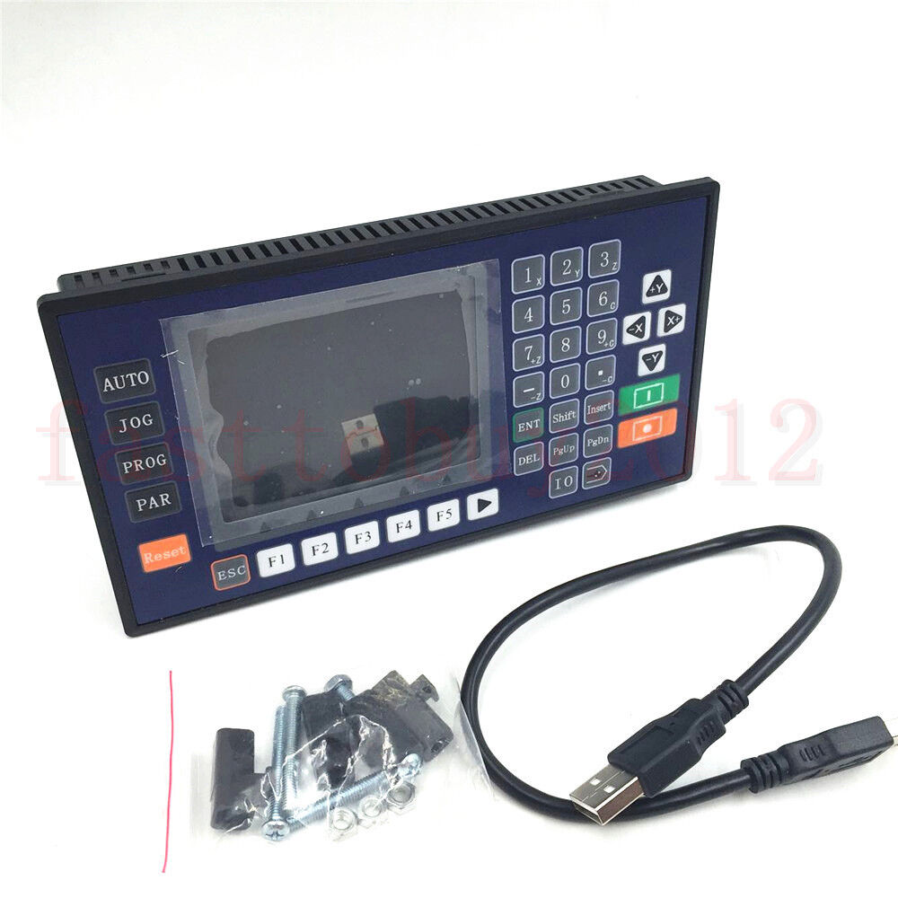 4 axis color lcd cnc servo stepper motor motion for 4 axis stepper motor controller