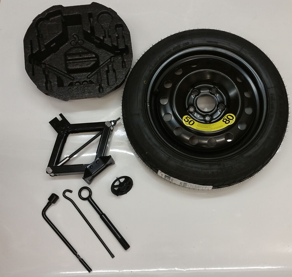 New OEM 2017 Kia Soul Spare Tire Kit Wheel Tire Jack And