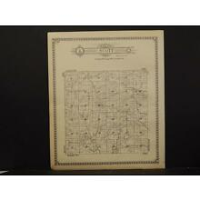 Wisconsin, Crawford County Maps, Seneca Township 1930 Two Double Sided J4#06