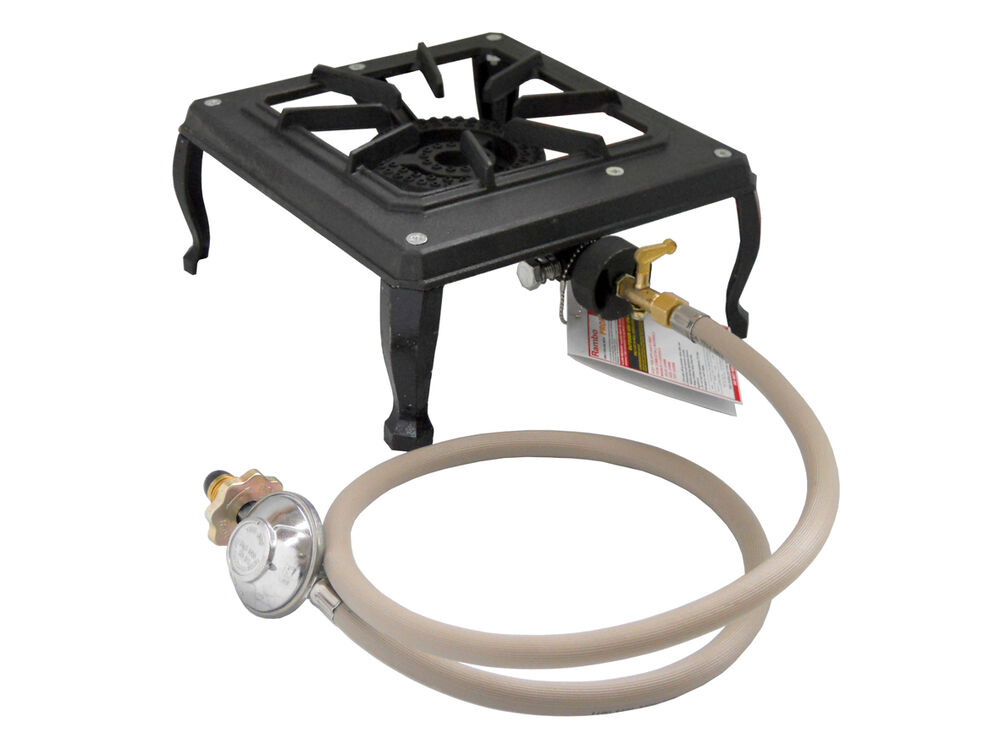 1 Single Burner Country Cooker Cast Iron LPG Gas Stove ...