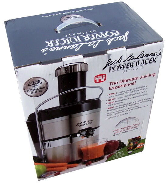 jack lalanne power juicer ultimate ebay. Black Bedroom Furniture Sets. Home Design Ideas