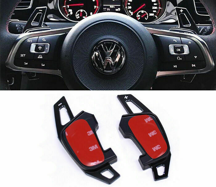 vw golf mk7 r scirocco polo gti black metal dsg paddle. Black Bedroom Furniture Sets. Home Design Ideas