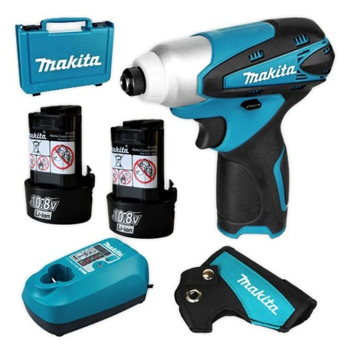 makita td090dwe 10 8v 1 3ah li ion cordless impact driver. Black Bedroom Furniture Sets. Home Design Ideas