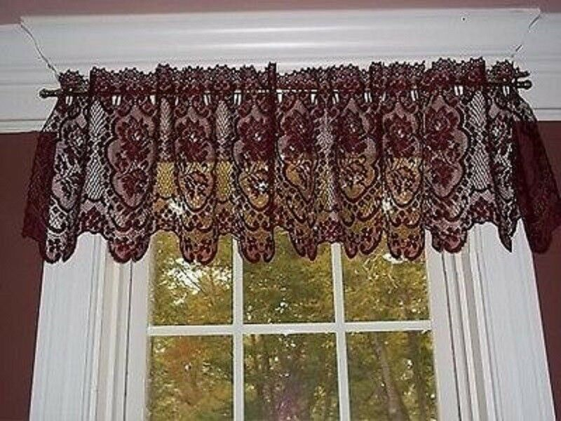 Heritage Lace Cameo Rose 60 Quot X 15 5 Quot Valance Ivory Or