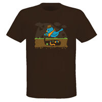 Early Bird Gets The Worms Funny Cartoon T Shirt