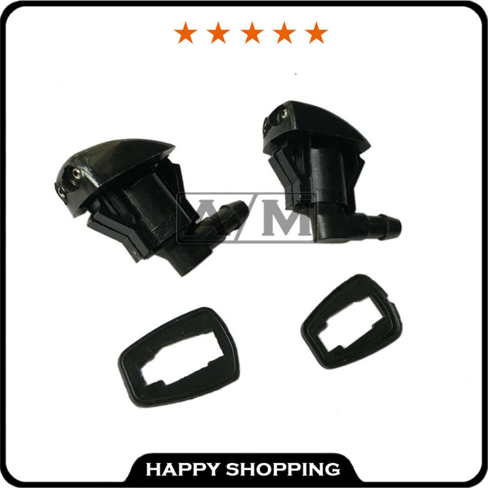 2x Windshield Washer Nozzle Front For Enclave Traverse