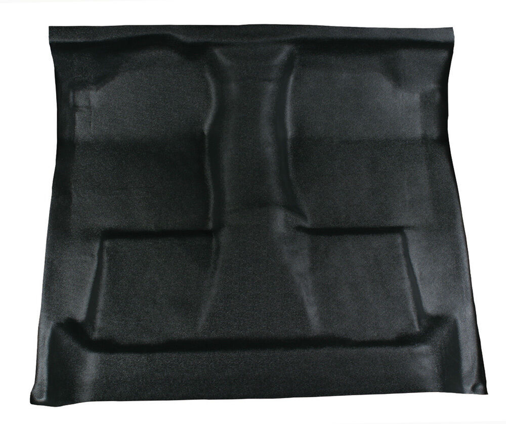 Black Vinyl Floor Mat Replaces Carpet 1987 1996 Ford
