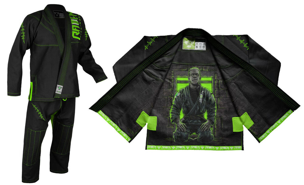 Raven Fightwear Men's BJJ Horror Frankenstein's Monster ...