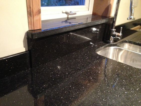 star galaxy granite kitchen worktop all colours available ebay. Black Bedroom Furniture Sets. Home Design Ideas