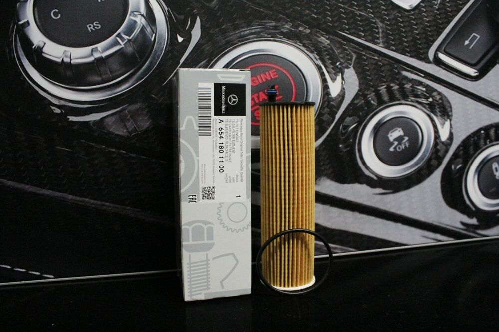Genuine Mercedes Benz Om654 Diesel Engine Oil Filter