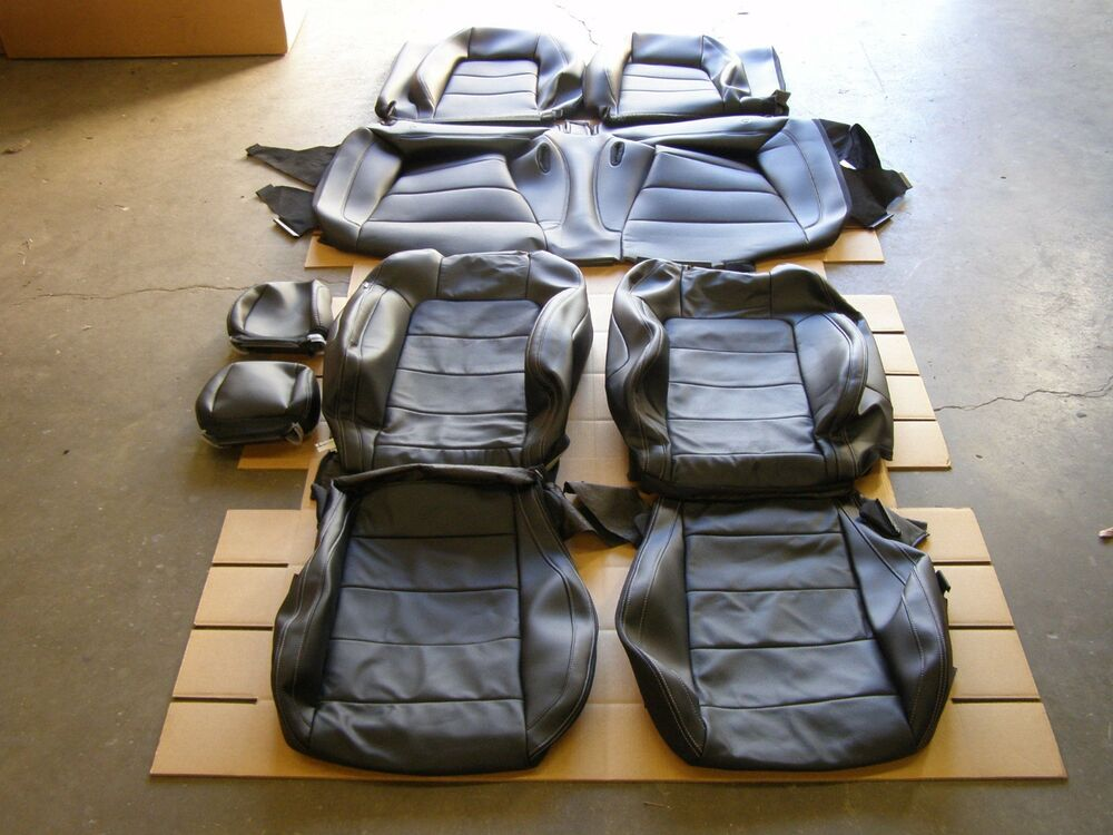 Oem Take Off 2015 2016 2017 Ford Mustang Coupe Seat Covers