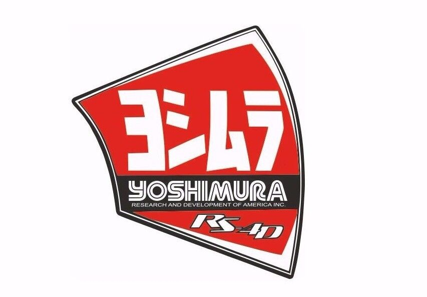 Yoshimura New Exhaust Muffler Decal Rs 4d Replacement End