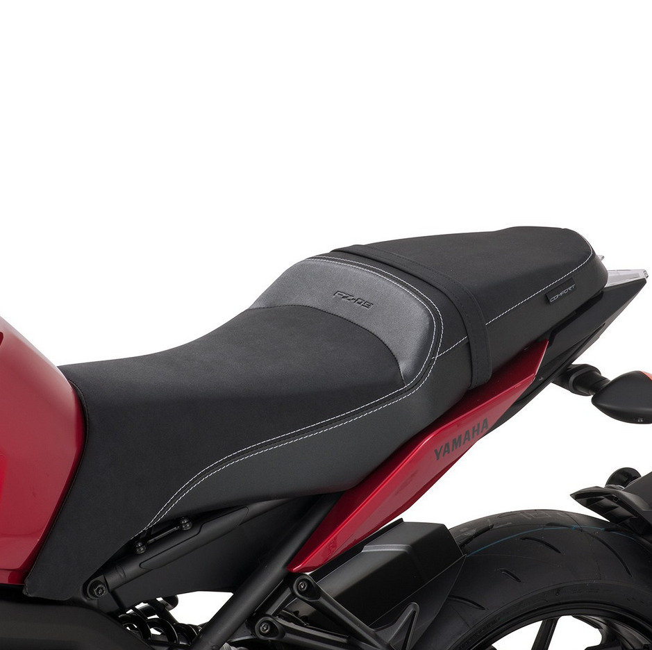 Yamaha Replacement Seat Covers : Oem yamaha black replacement comfort seat for fz logo accent stitching ebay