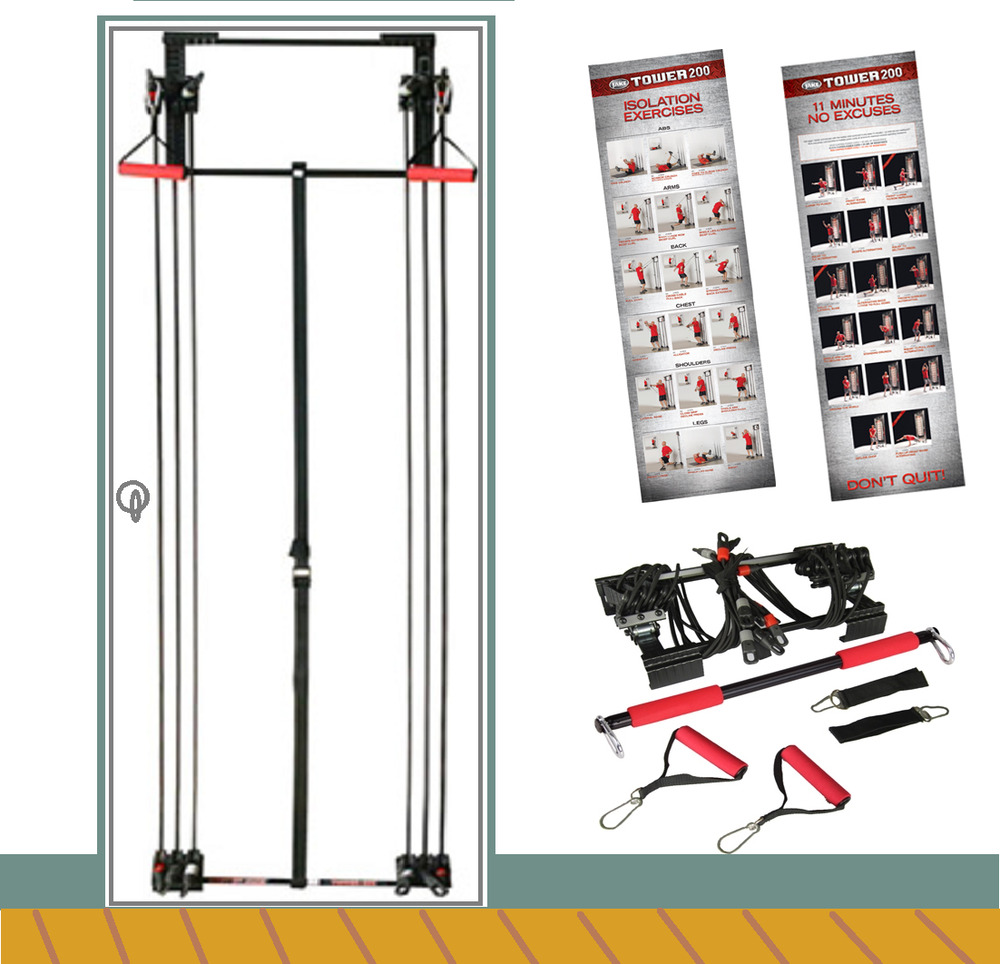 Tower 200 Body By Jake Full Gym Fitness Workout Dvd