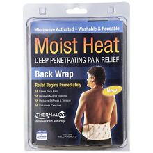 Thermalon Moist Heat Deep-Penetrating Pain Relief, Back Wrap - 1 Each Pack Of 3