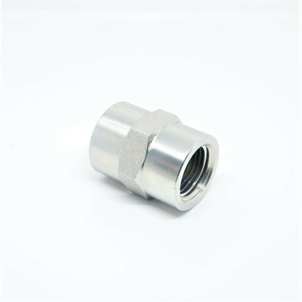 Female npt fpt fip thread pipe coupling joiner adapter