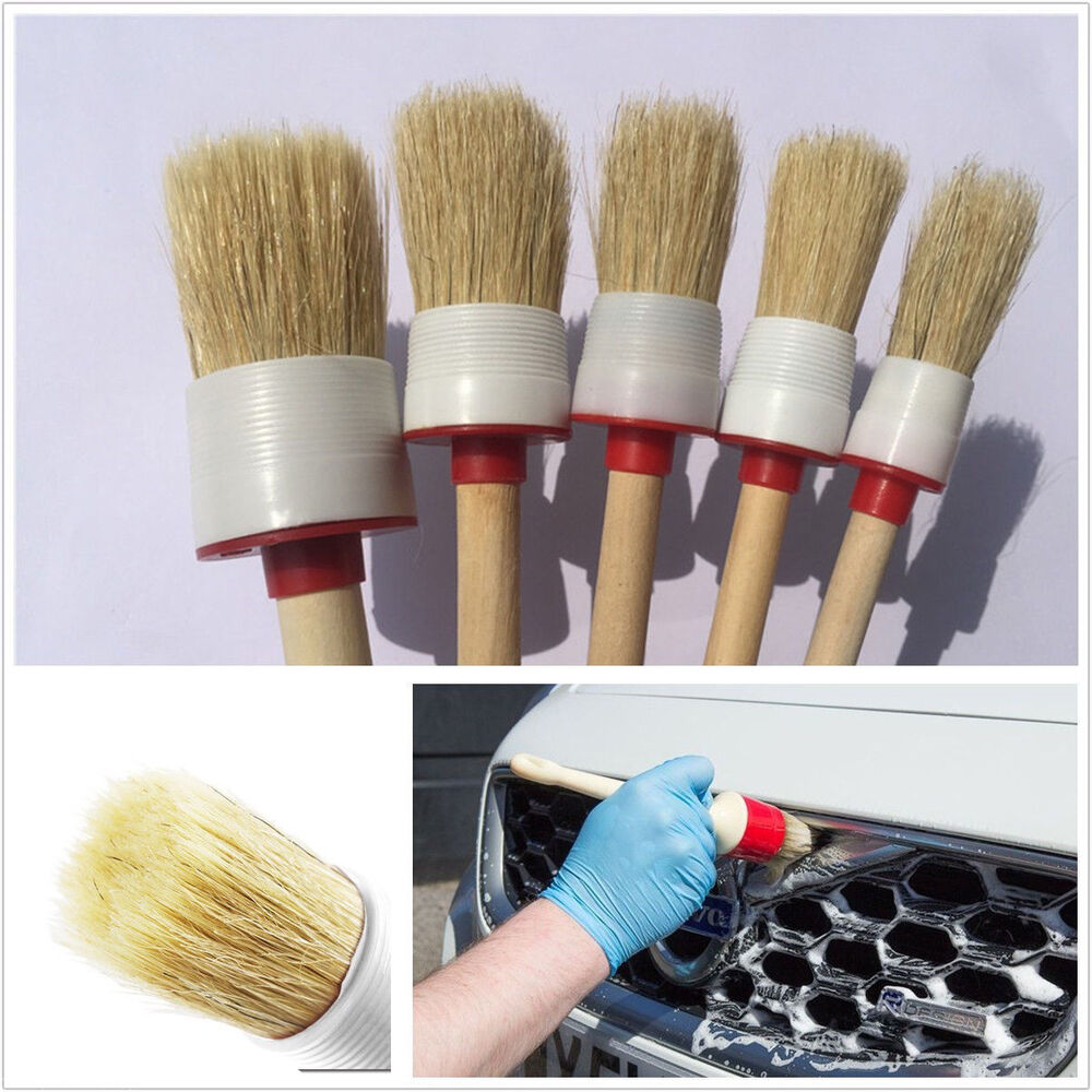 5in1 Portable Car Exterior Wheel Rims Engine Cleaning Brush Bristle Cleaner Tool Ebay