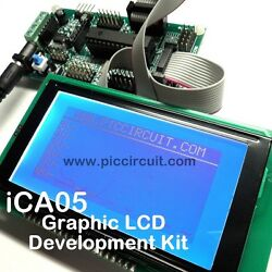 iCA05 Graphic LCD Development Kit (Microchip 28pin IO Kit) with FREE Source Code