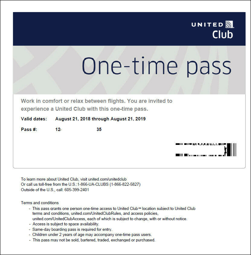 2 passes for united club one time pass exp 9102019 not chase e 2 passes for united club one time pass exp 9102019 not chase e pass available ebay colourmoves