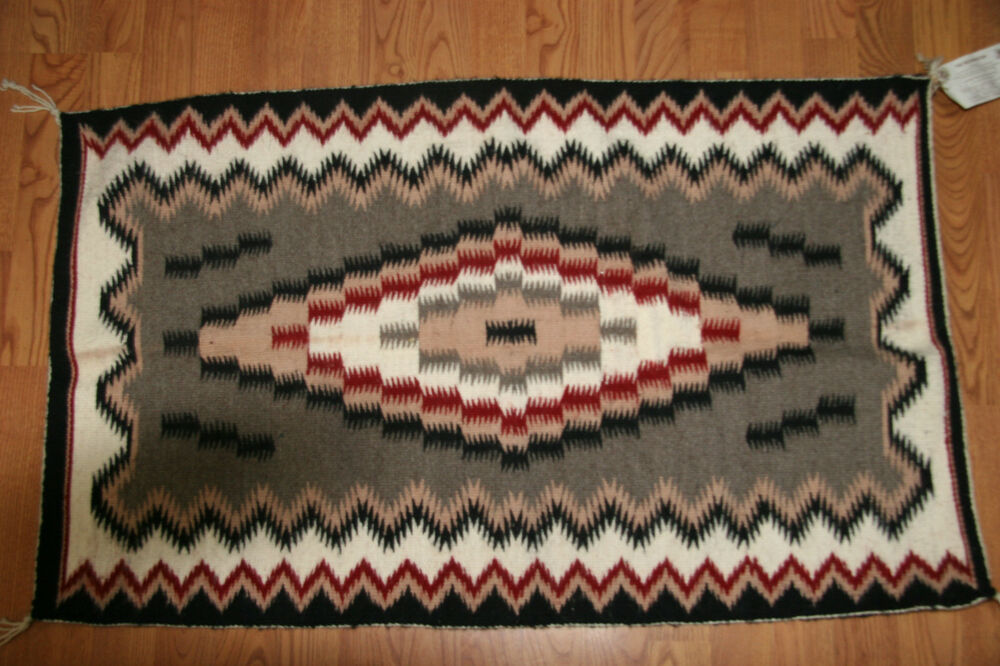 Collectable Authentic Native American Navajo Rug By Betty