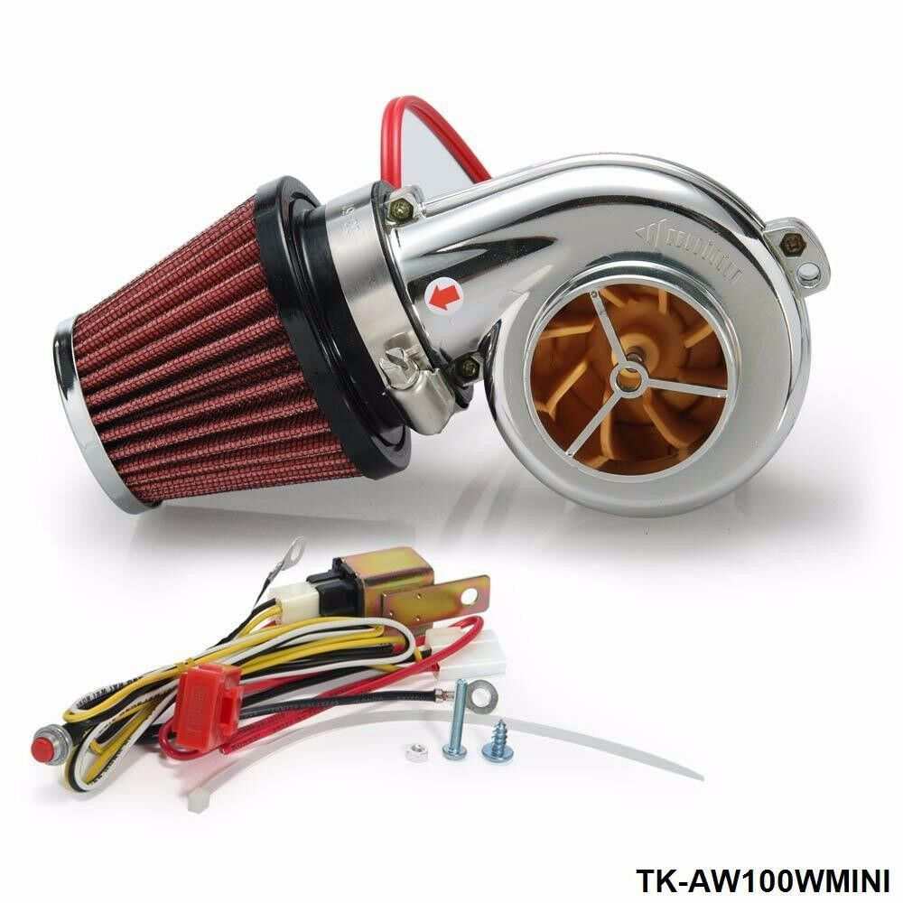 Supercharger Air Cleaner : Turbo kits mini electric supercharger kit air filter