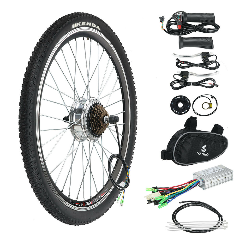 36v e bike electric bicycle motor conversion kit 250w 26 for Bicycles with electric motors