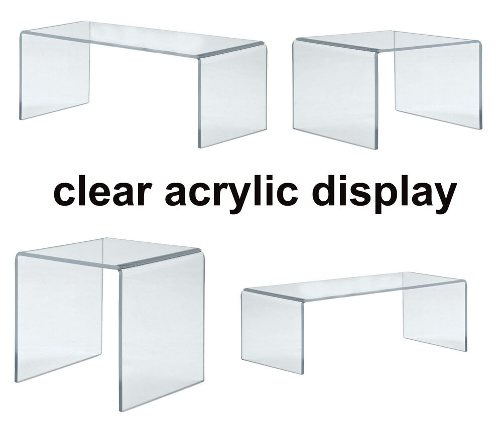 Clear Plastic Display Cabinet