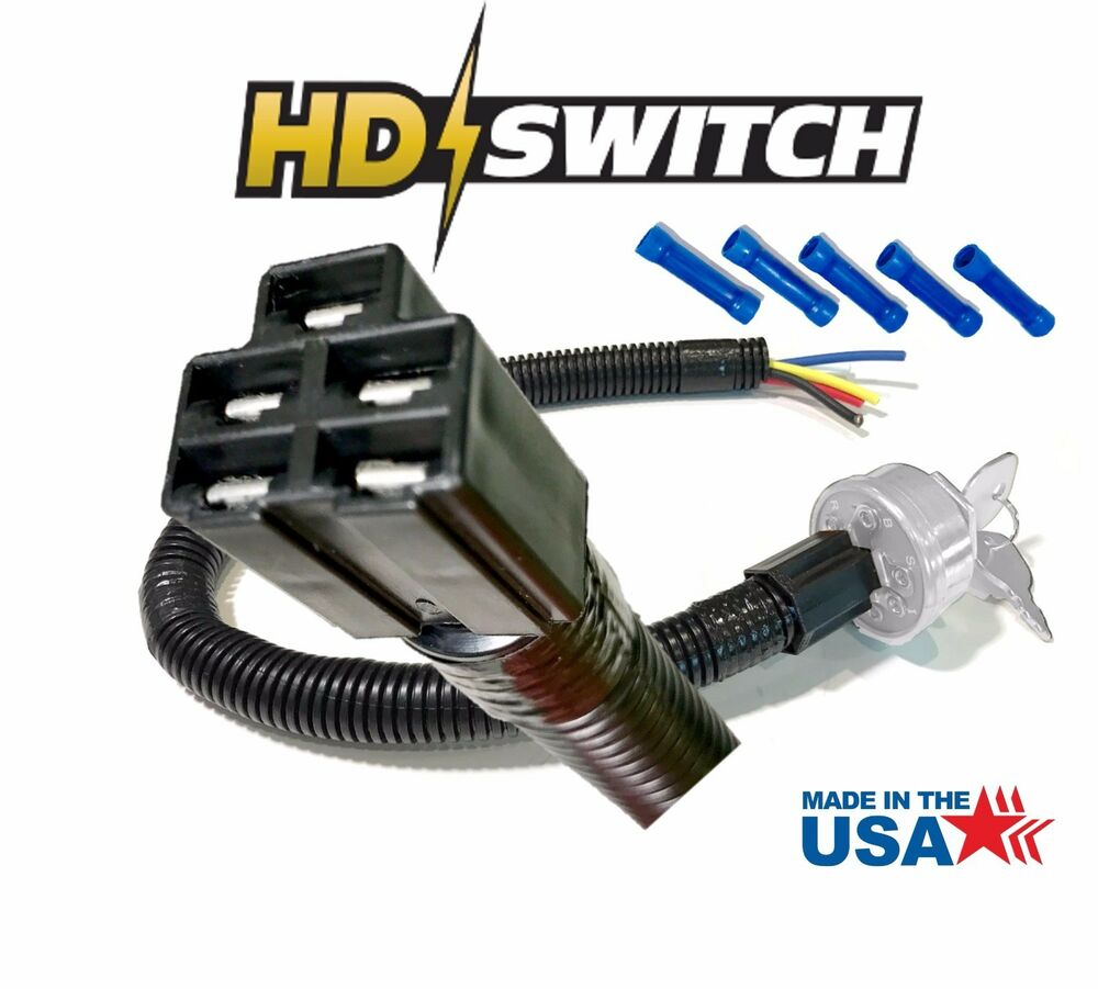 Key Switch Wire Harness Connector Plug Asy For Gravely 018272 Wiring Made In Usa 7509368106223 Ebay
