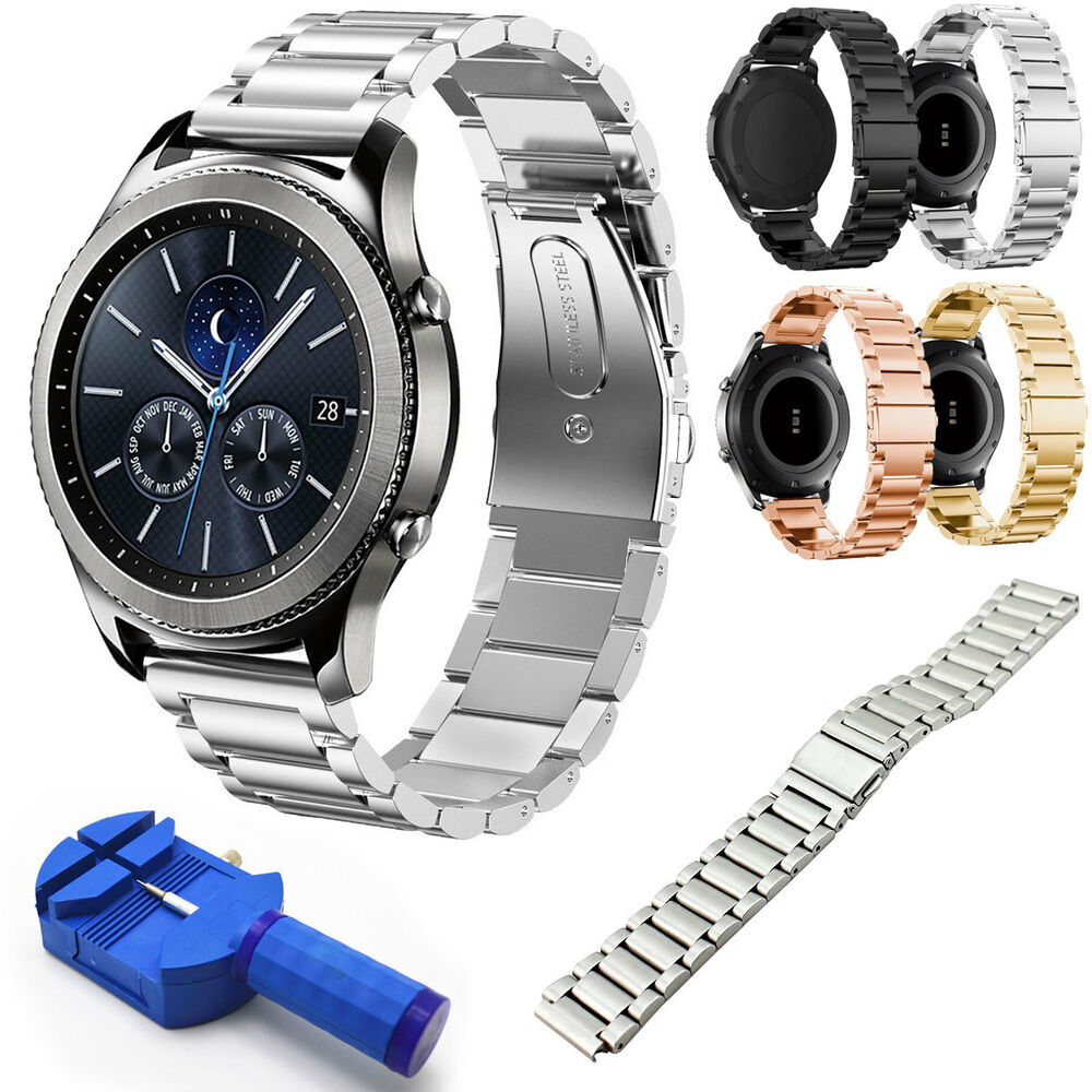 stainless steel metal watch band strap for samsung gear s3 frontier s3 classic ebay
