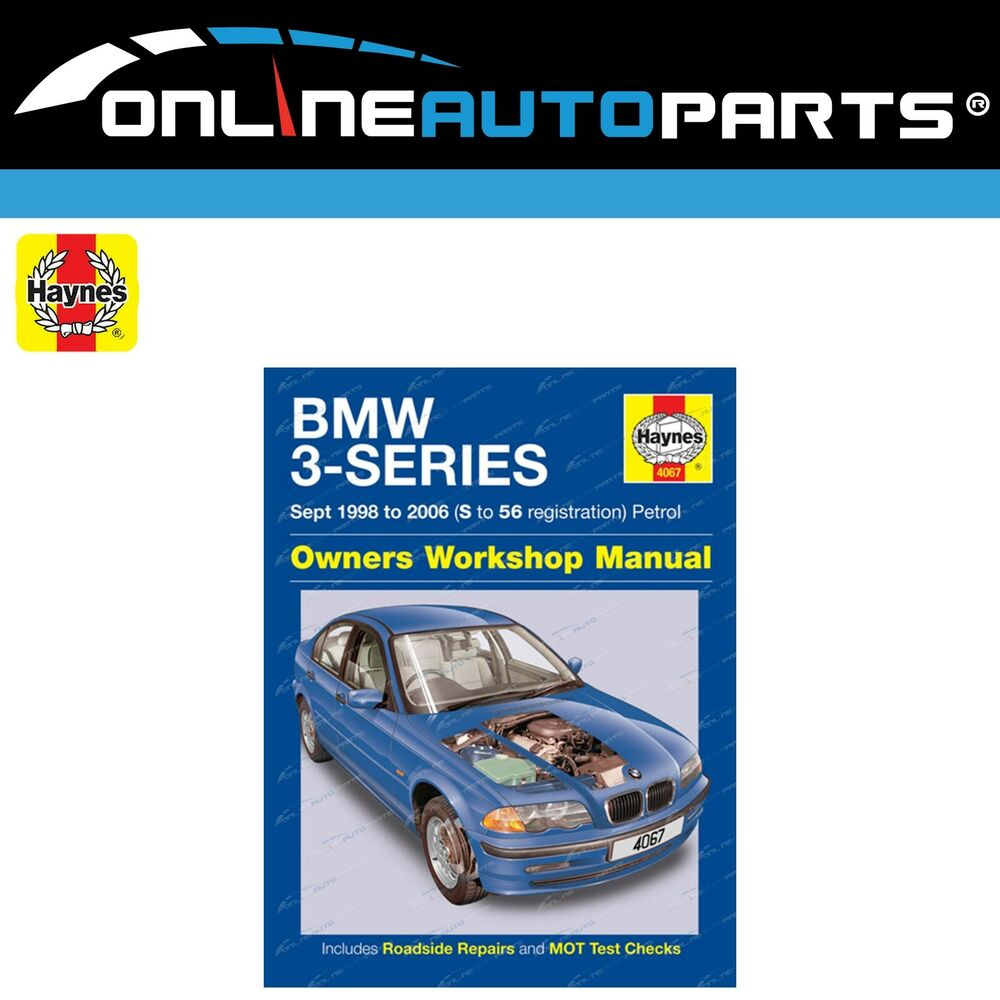 Haynes Car Repair Manual Book BMW E46 1998-06 316i 318i 320i 323i 325i 328i  330i | eBay