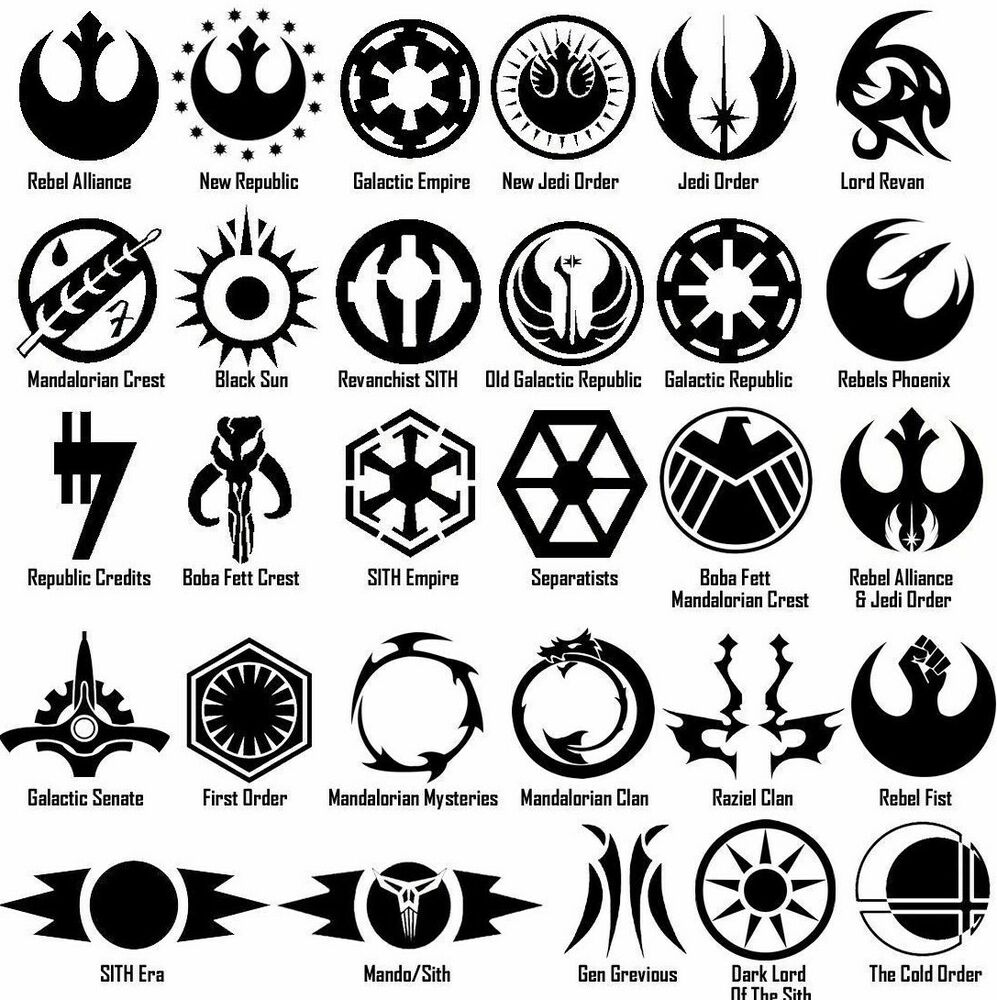 Starwars symbol vinyl decal sticker door window star wars galactic starwars symbol vinyl decal sticker door window star wars galactic usa seller ebay biocorpaavc