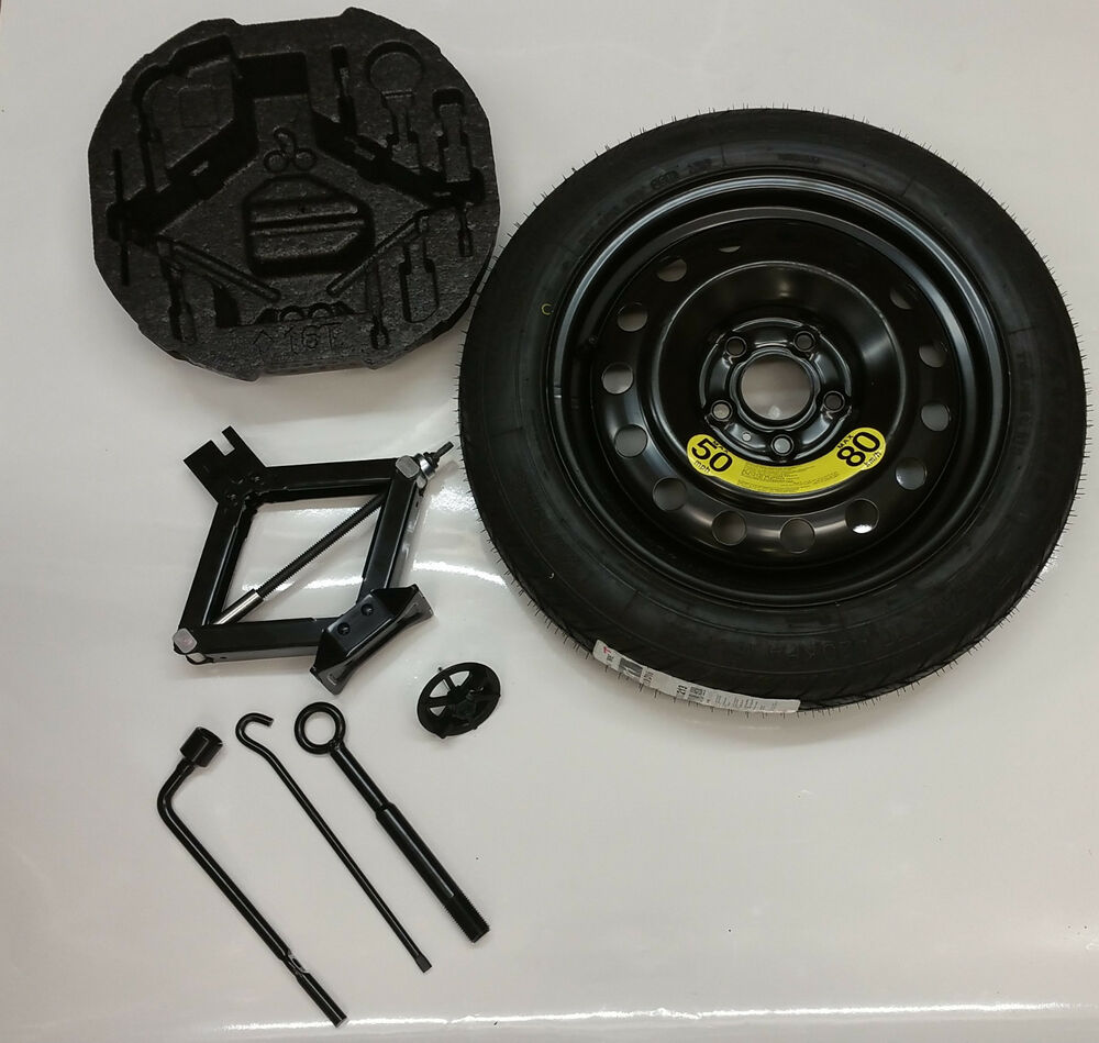 genuine kia new oem 2017 kia soul spare tire kit wheel tire jack and tools ebay. Black Bedroom Furniture Sets. Home Design Ideas