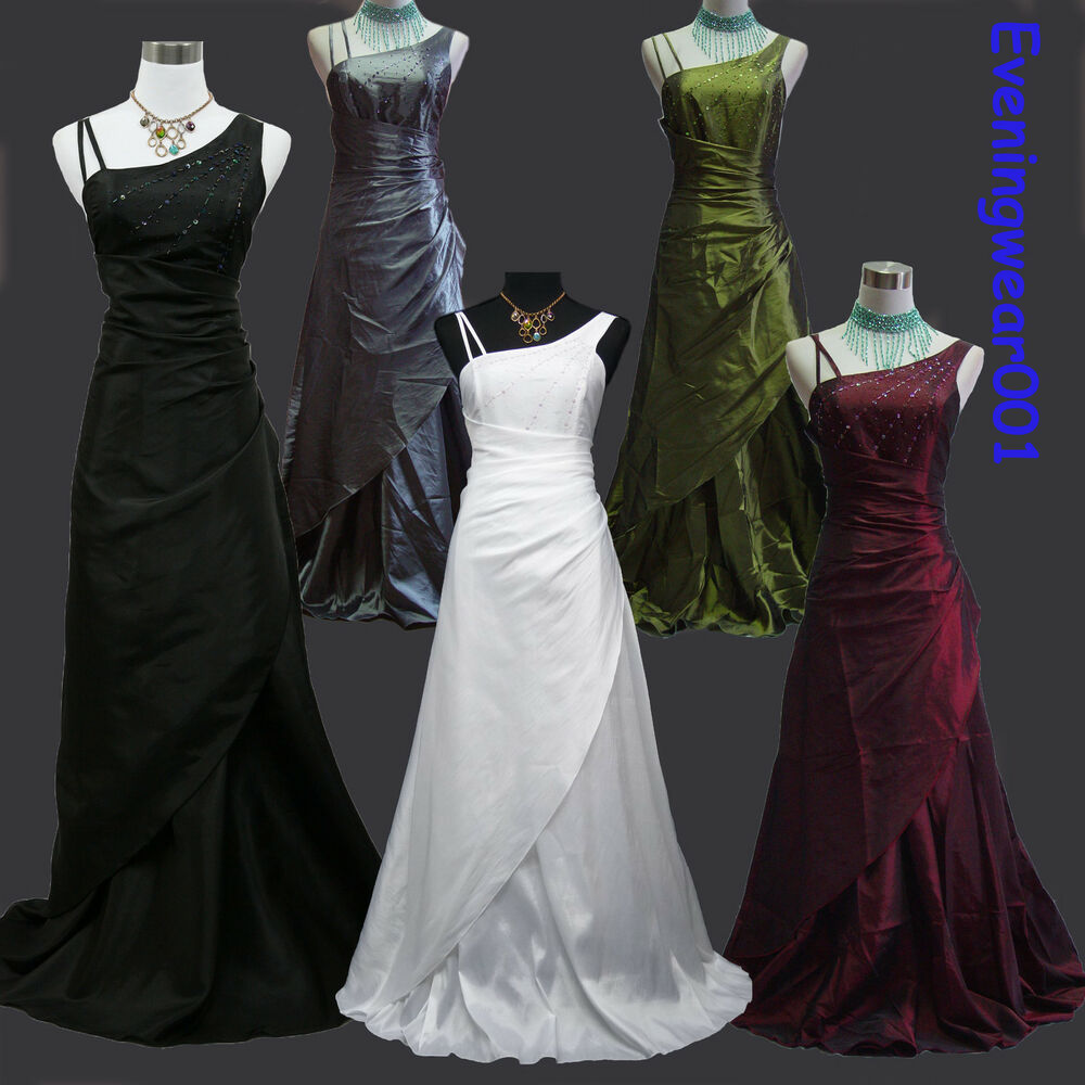 Cherlone ballgown formal bridesmaid ballgown full length for Ebay wedding bridesmaid dresses