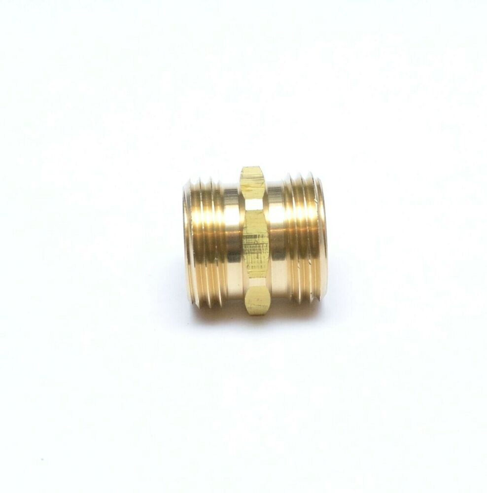 Quot male garden water hose thread universal ght connector
