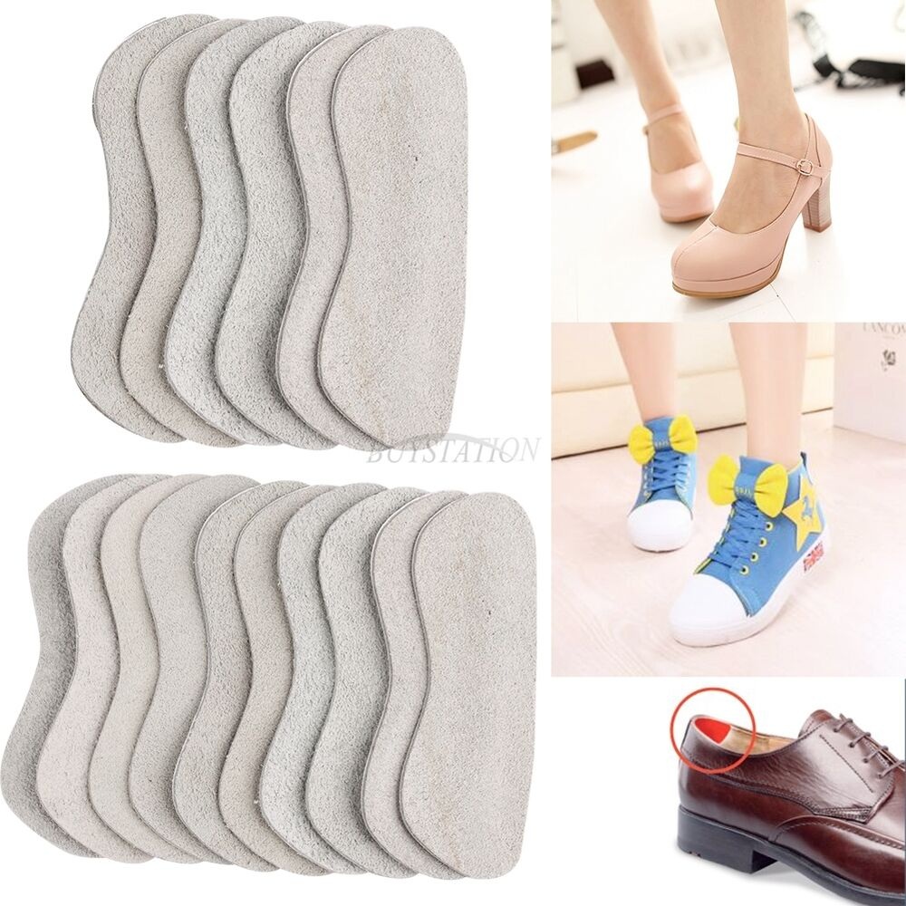 leather shoes boots back heel inserts protector insoles