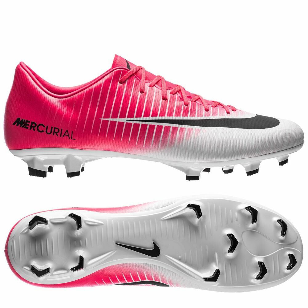 Pink And Black Indoor Soccer Shoes