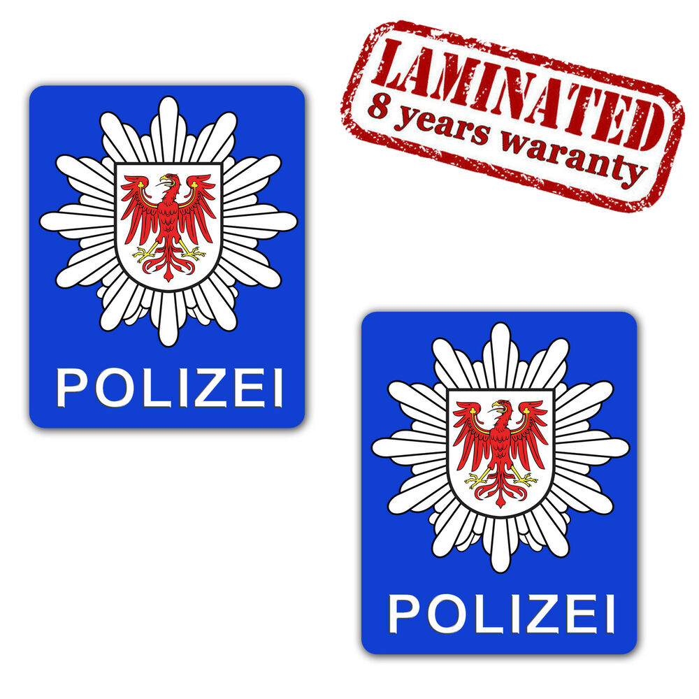 polizei aufkleber auto stickers gewerkschaft strafzettel polizeiaufkleber b 143 ebay. Black Bedroom Furniture Sets. Home Design Ideas