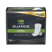 Depend Guards for Men Maximum Absorbency, 104-count - Free Shipping!