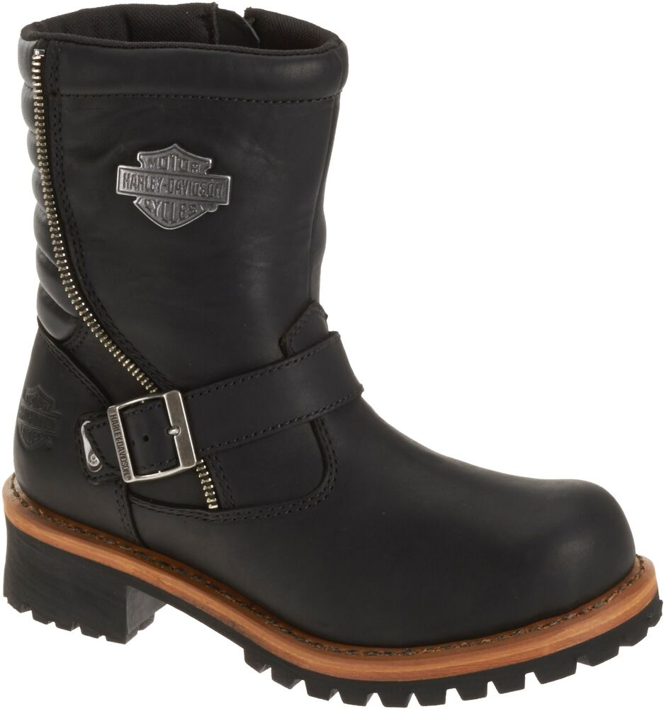 Popular Harley Davidson Womens Tinley After Riding Boots Style D83560 | EBay
