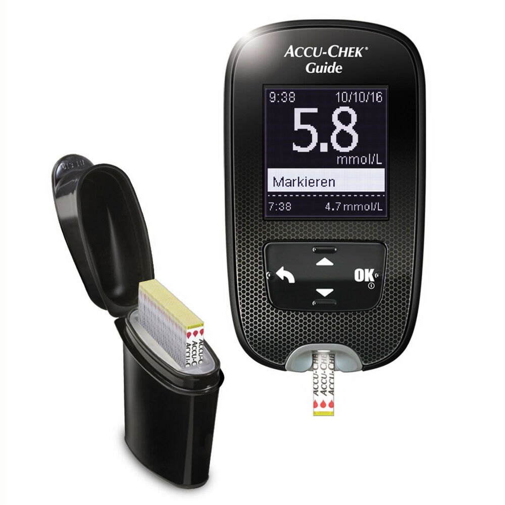 Accu Chek Guide Wireless Blood Glucose Meter Amp Lancing