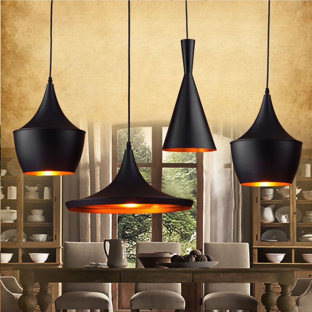 Ceiling Lamp Kitchen: Loft Cafe Kitchen Beat Fixture Lampshade Ceiling Light