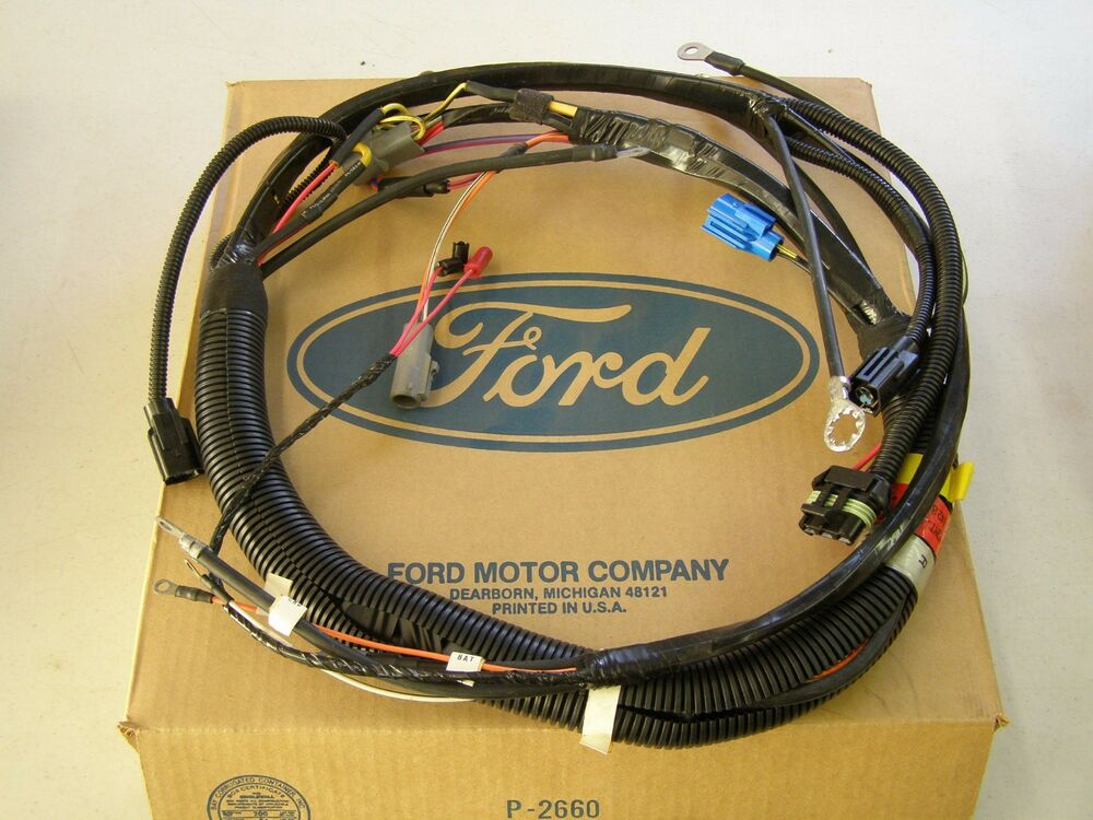 Nos Oem Ford 1993 F 600 700 800 Series Truck Engine Wiring